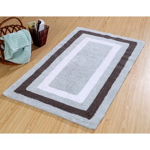 Inexpensive Deverell 100% Soft Cotton Bath Rug ByDarby Home Co
