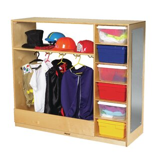 Dress-Up Double Sided 6 Compartment Cubby By Childcraft