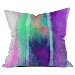 Skein Outdoor Throw Pillow