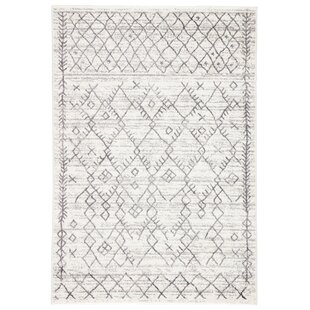 Buy Caples Trellis White/Light Gray Area Rug By Union Rustic