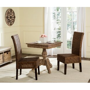 Baldwin Dining Chair (Set Of 2) by Beachcrest Home Top Reviews