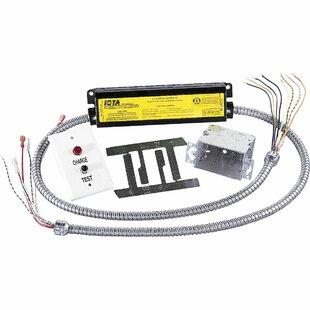 Battery recessed lighting wayfair emergency battery pack for recessed lighting set of 6 aloadofball Images