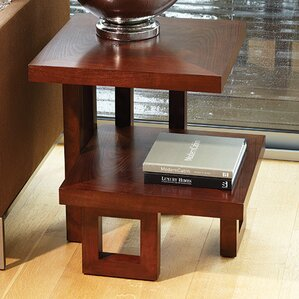 Step Up End Table