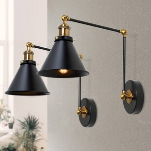2 Swing Arm Wall Sconces You Ll Love In 2021 Wayfair