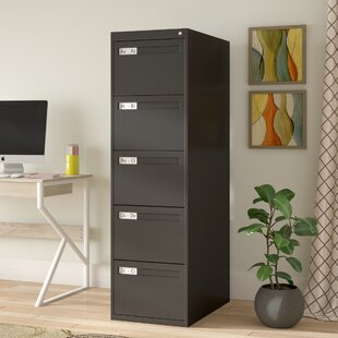 5 Drawer Vertical Filing Cabinet by Tennsco Corp.
