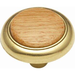 Woodgrain Mushroom Knob