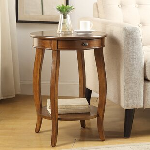 Searching for Shropshire End Table With Storage By Charlton Home