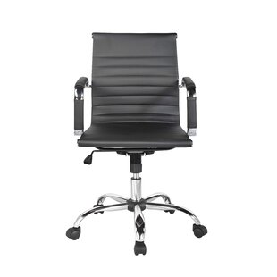 Kaylin Leather Conference Chair