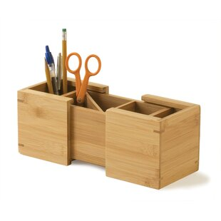 Best Reviews Bamboo Expandable Pencil Holder by Lipper International