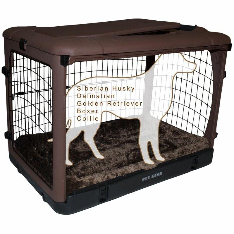 Pet Gear Deluxe Pet Crate Reviews Wayfair