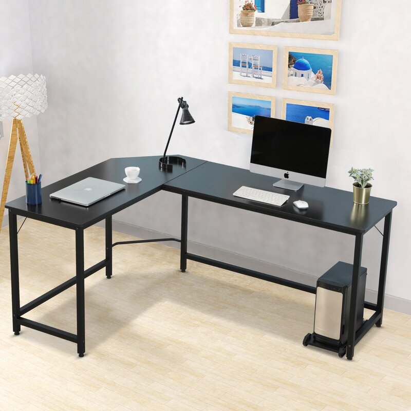 Latitude Run Blairsburg L Shape Desk Reviews Wayfair