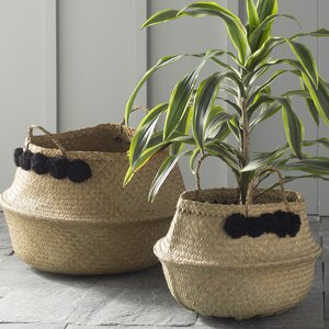 Wicker Collapsible 2 Piece Bas...