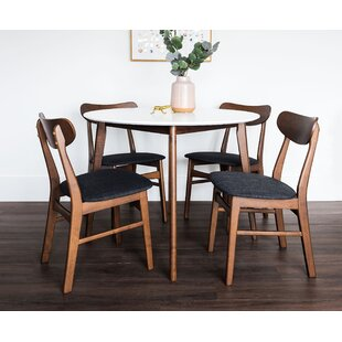 Bloomquist Round 5 Piece Dining Set Corrigan Studio