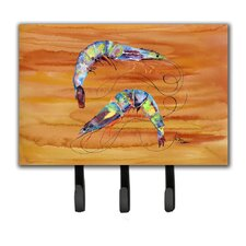 Shrimp Leash Holder and Key Holder by Caroline's Treasures