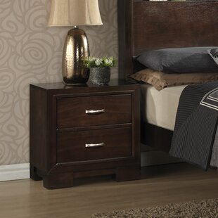 Peasely 2 Drawer Nightstand by Ebern Designs