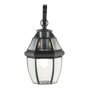 Reviews Willard 1-Light Outdoor Wall Lantern By Alcott Hill