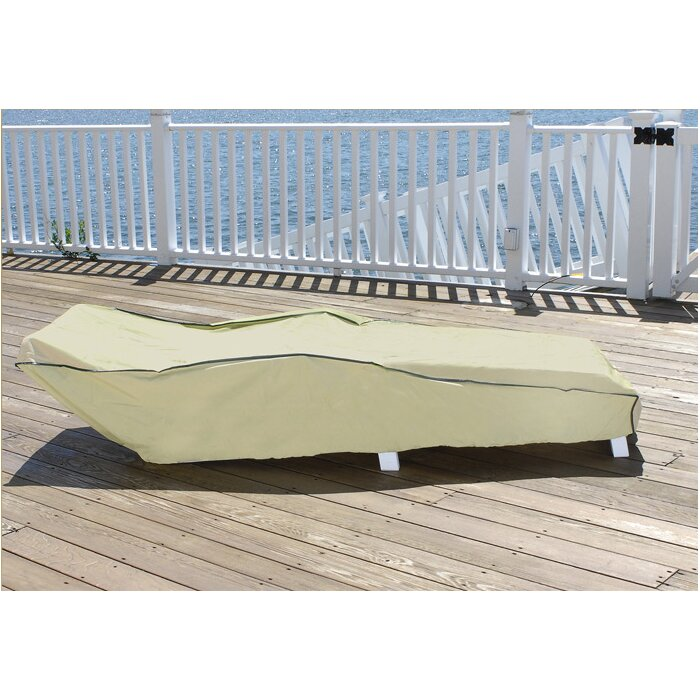 Great Durable Outdoor Patio Vinyl Chaise Lounge Chair Cover