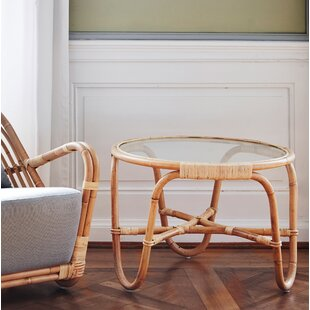 Charlottenborg Rattan Chat Table