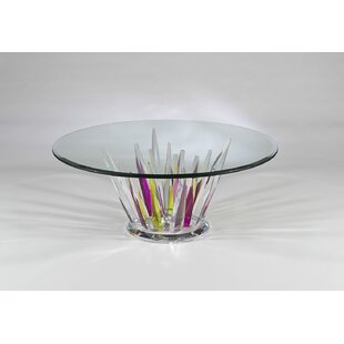 Crystals Coffee Table by Shahrooz Wonderful