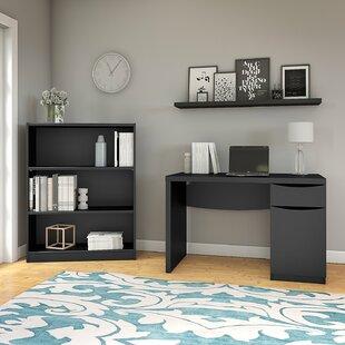 Desk Bookshelf Combo | Wayfair