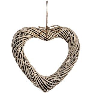 Heart Wicker Wall Décor