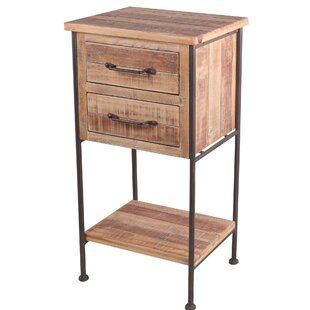 Mcconville End Table with Storage