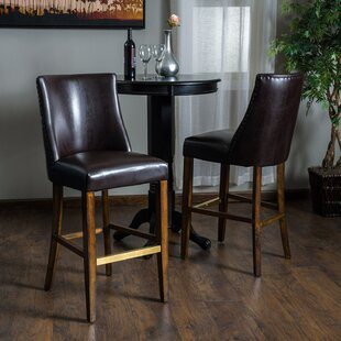 Cottonwood 30.6 Bar Stool (Set of 2) August Grove