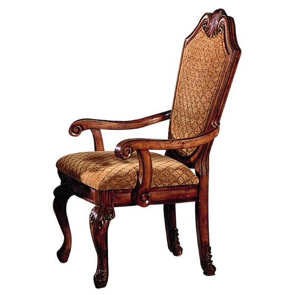 Astoria Grand Alfort Queen Anne Arm Chair U0026 Reviews | Wayfair