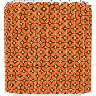 Pumpkin Spice Single Shower Curtain