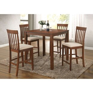 Newbold 5 Piece Pub Table Set