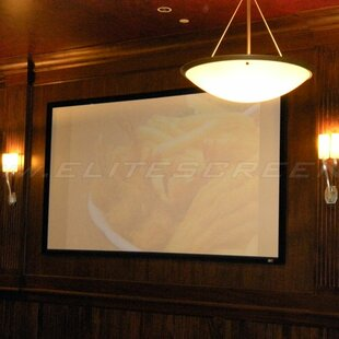 SableFrame White Fixed Frame Projection Screen