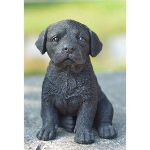 Black Labrador Statue Wayfair