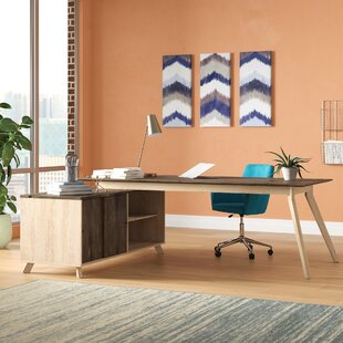 Holmes L-Shape Desk by Comm Office Great Reviews