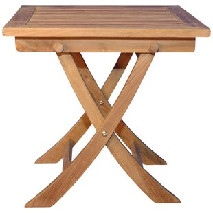 Occasional Folding Teak Side Table