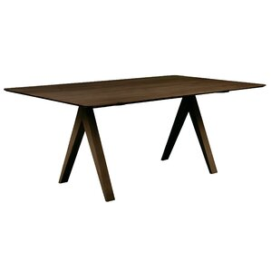 Jermey Rectangular Wood Dining Table by C..