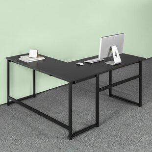 Comparison Ferrill L shaped Desk By Ebern Designs