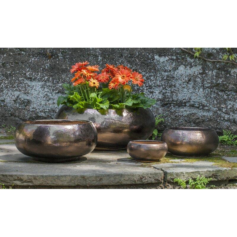 Latitude Run Pettengill 4 Piece Terracotta Pot Planter Set Wayfair