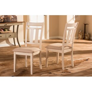 Fauntleroy Dining Chair (Set of 2) Alcott Hill