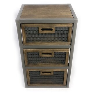 Aitkin 3 Drawer Accent Chest by Millwood Pines SKU:AE950103 Description