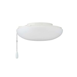 2-Light Bowl Ceiling Fan Light Kit