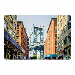 Juan Paolo Dumbo Urban Photography Blue Area Rug