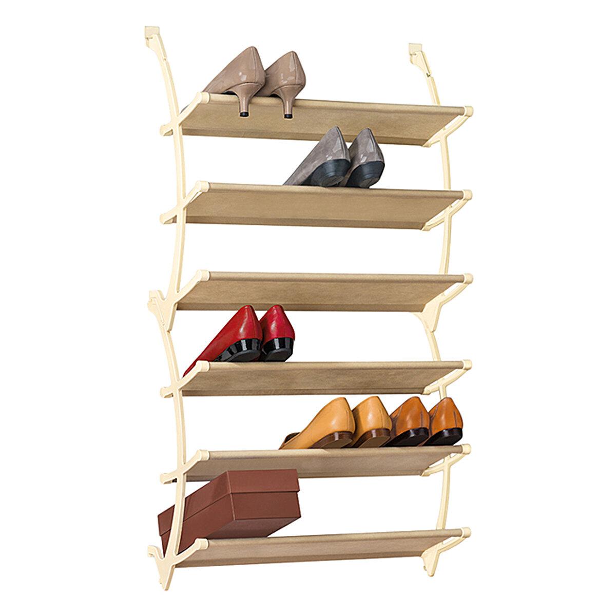 Superieur Lynk Vela 6 Tier Over Door Shoe Shelves U0026 Reviews | Wayfair