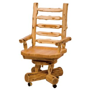 Traditional Cedar Log Bankers Chair