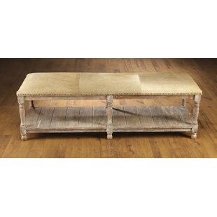 Rakestraw Wood Storage Bench