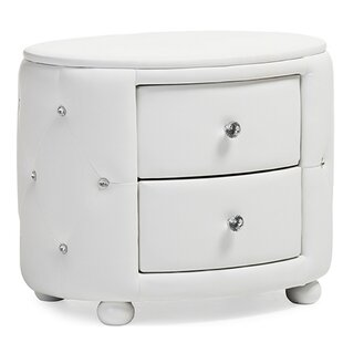 Leib 2 Drawer Nightstand by Mercer41