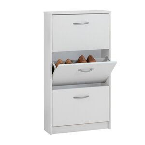 Leaf 3 Shoe Storage Cabinet