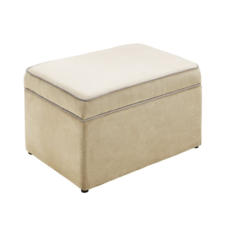 Brilliant Aislin Storage Ottoman Gmtry Best Dining Table And Chair Ideas Images Gmtryco