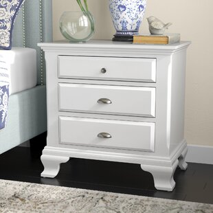 Shenk 3 Drawer Nightstand by Winston Porter