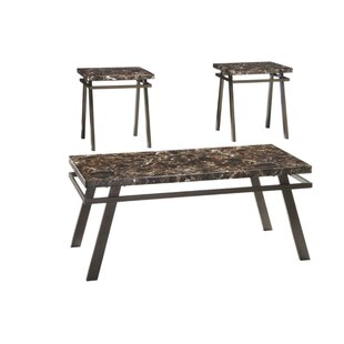 Caistor 3 Piece Coffee Table Set by Alcott Hill