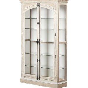 carressa lighted curio cabinet